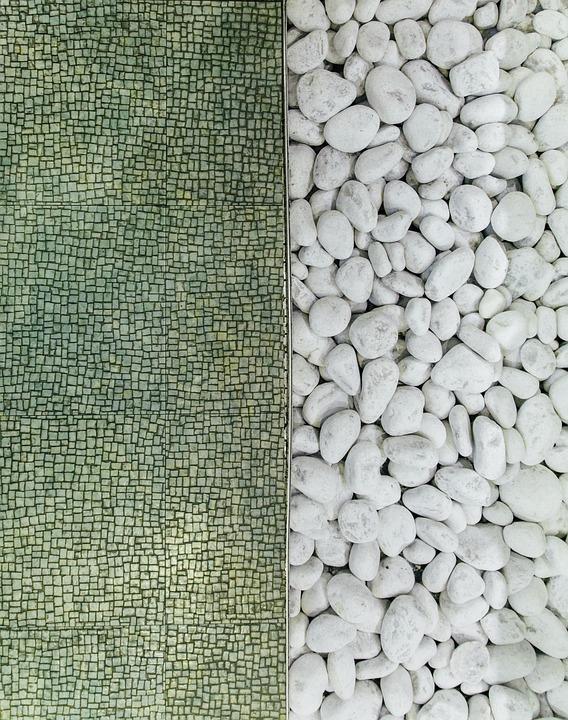 Contrast, Division, Stone, Rocks, White, Green