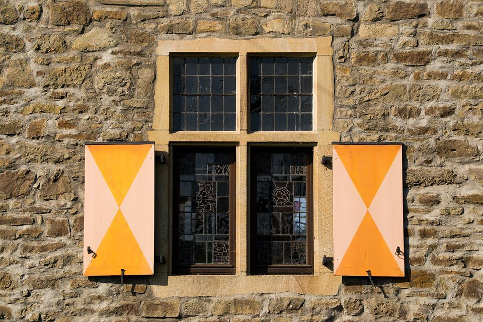Window, Castle, Old, Wall, Stone, Building, Masonry