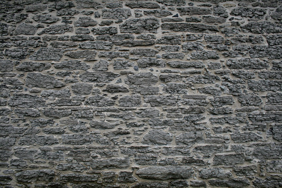 Stone, Grey, Weathered, Stone Work, Old Building, Wall
