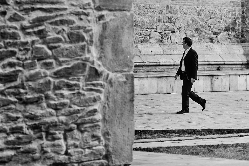 People, Stone, Wall, Architecture, Young, Street