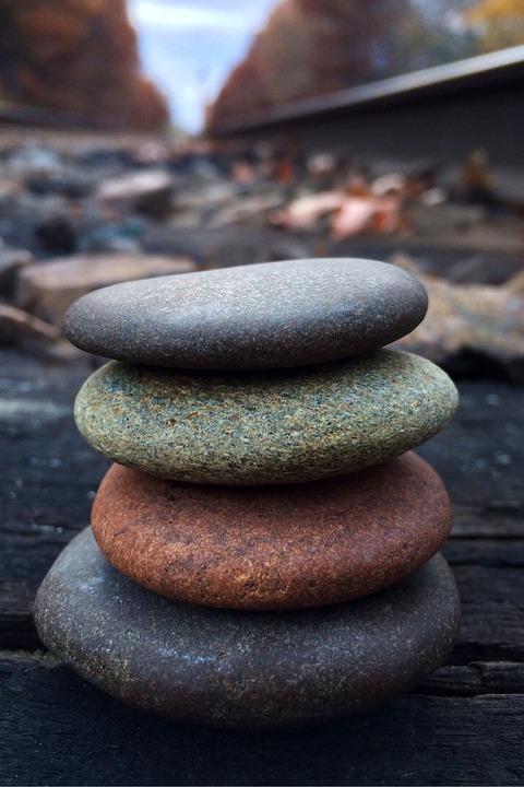 Rock, Balance, Stone, Zen
