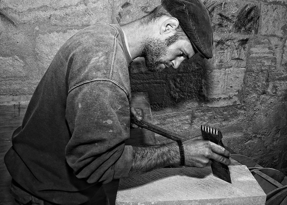 Stonecutter, Crafts, Tailor, Business