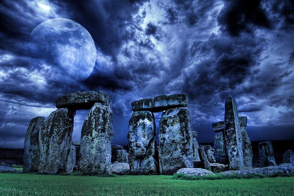 Stonehenge, England, Monument, Stone, District