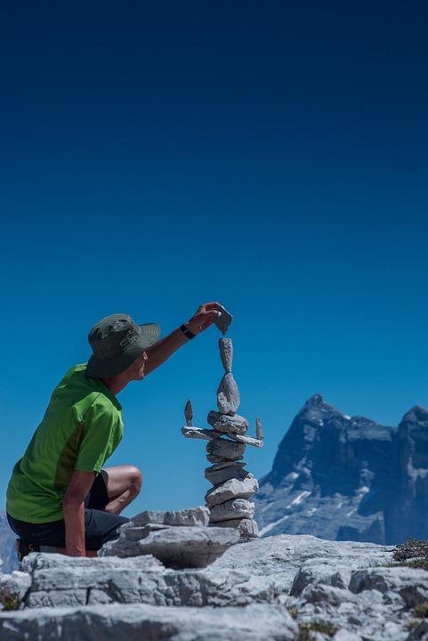 Stones, Mountains, Stonestacking, Stack, Balance, Alps