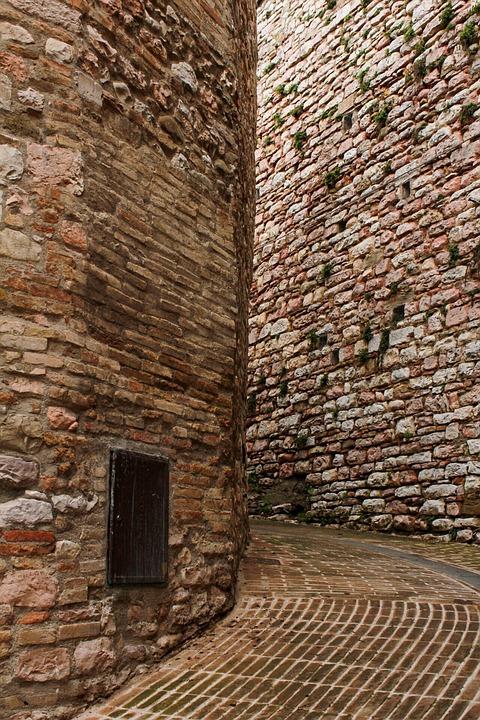 Old, Brick, Stone's, Architecture