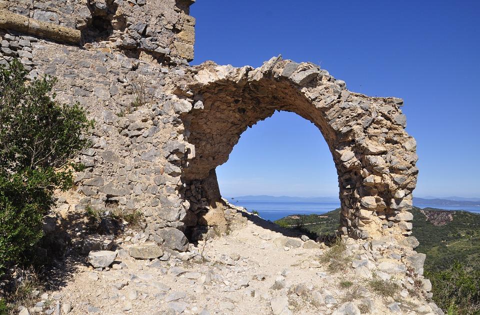 Castle, Ruined, Rocks, Stones, History, Wall, Walls