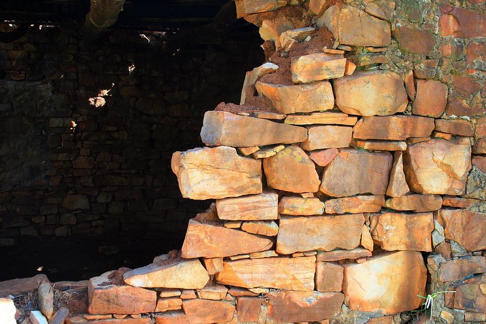 Stone Built Ruin, Ruin, Building, Stones, Dilapidated