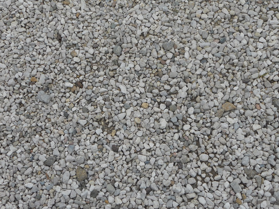 Pebble, Gravel Bed, Steinchen, Stones