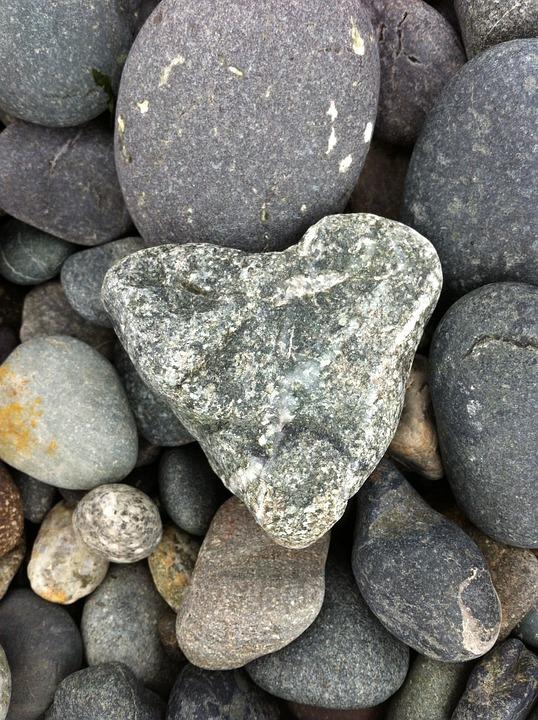 Rocks, Heart, Love, Stones