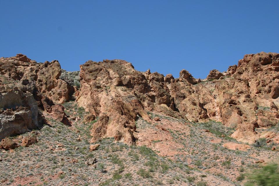 Desert, Stones, Hot, Kahl, Stone, Nature, Landscape