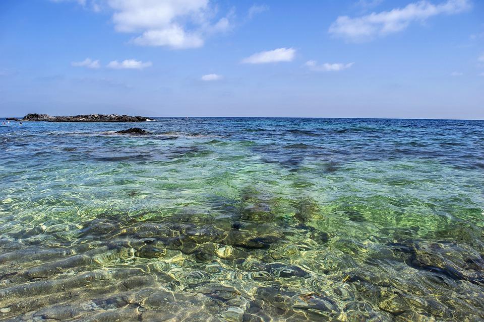 Beach, Stones, Sea, Costa, Sky, Landscape, Marina