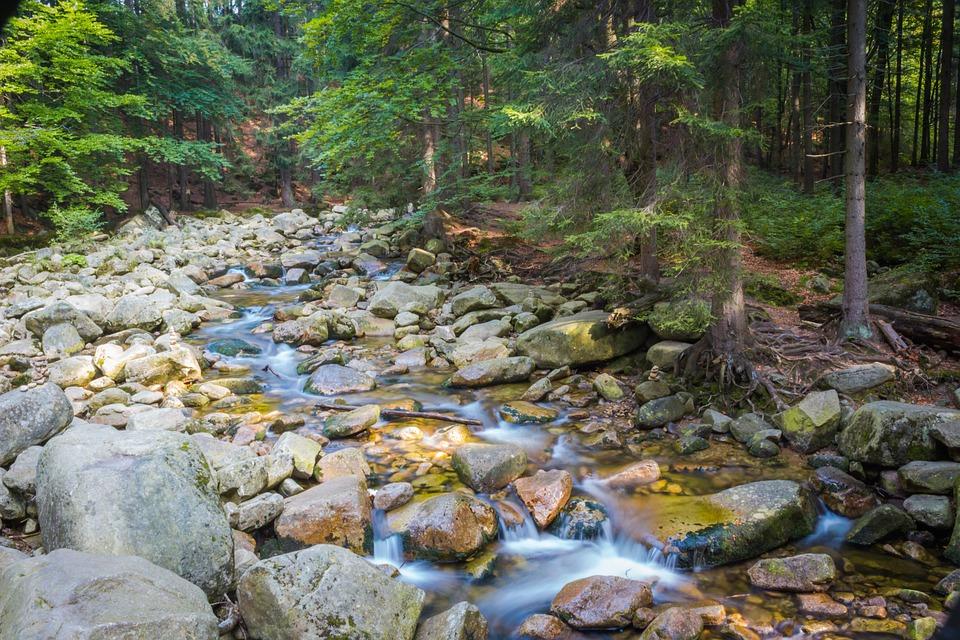 River, Mumlava, Stones, Nature