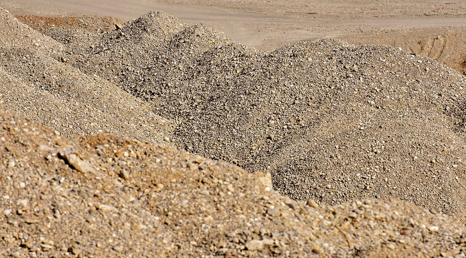 Gravel Mountains, Stones, Pebble, Nature, Site
