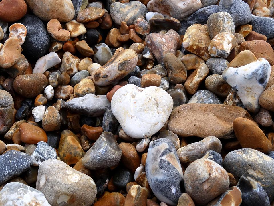 Stones, Bank, Sea, Beach, Pebbles