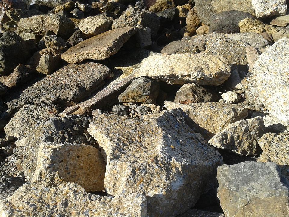 Stones, Rocks, Beach