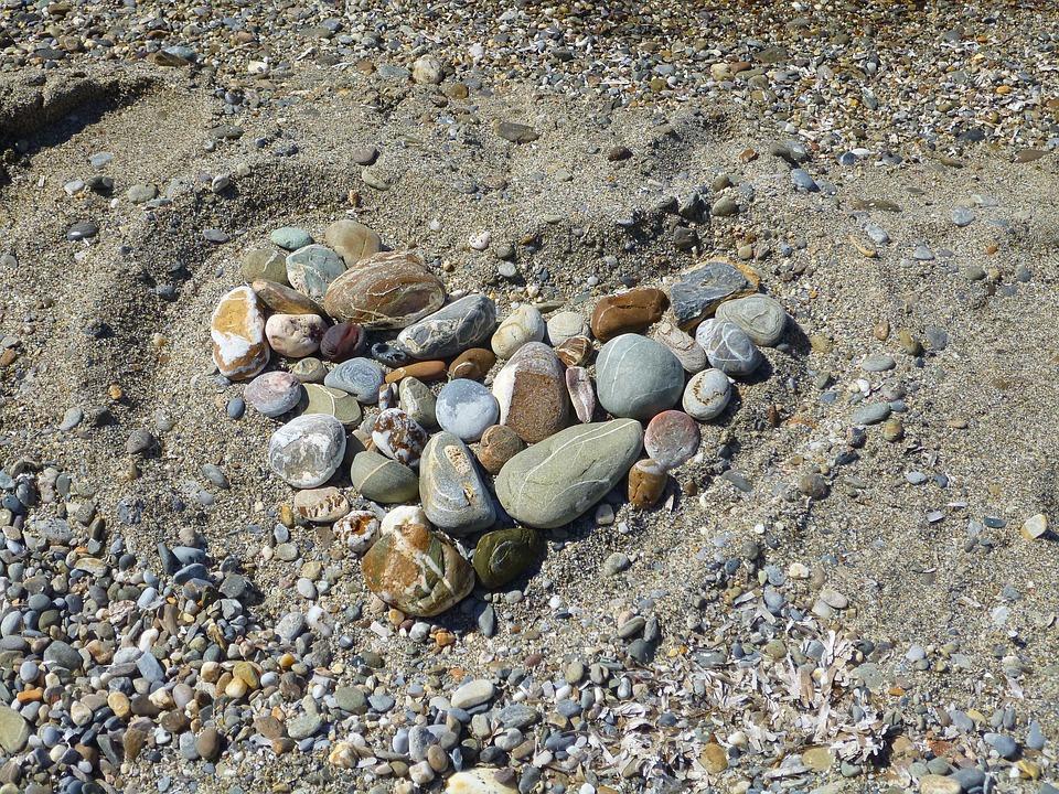 Heart, Stones, Sand