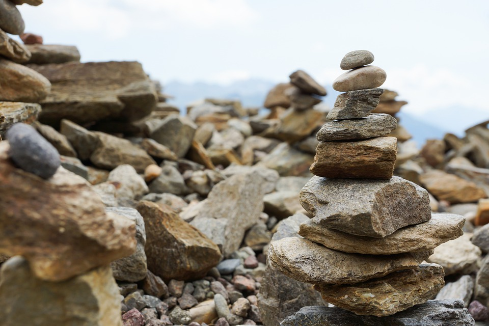 Balance, Stones, Meditation, Rest, Stone Tele