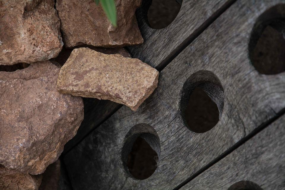 Stones, Winery, Nature