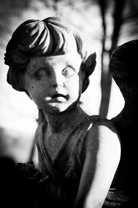 Angel, Grave Yard, Statue, Stonework, Stone, Sculpture