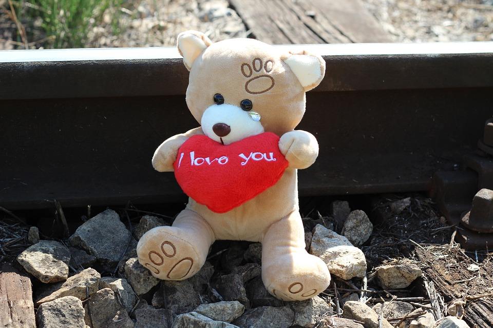 Stop Children Suicide, Teddy Bear Crying, Railway