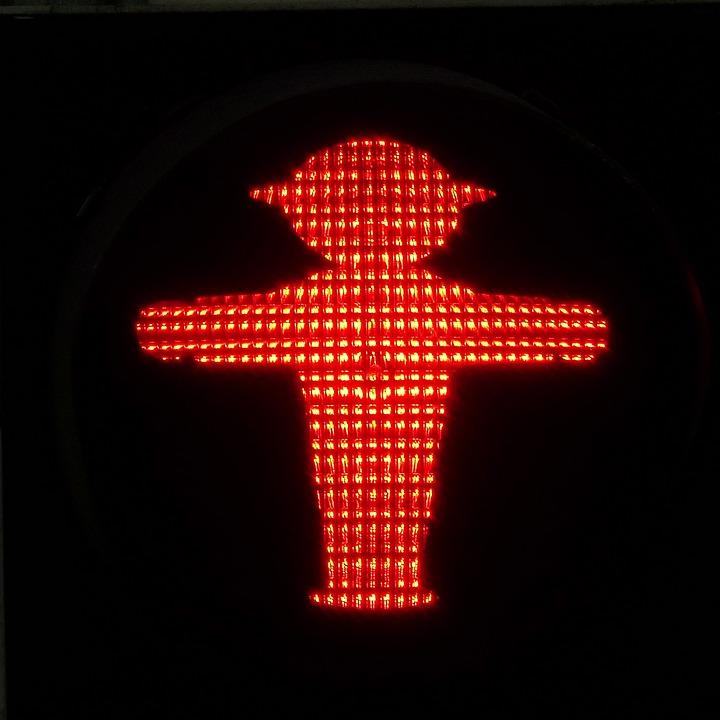 Traffic Light Traffic Light Figure, Stop, Containing
