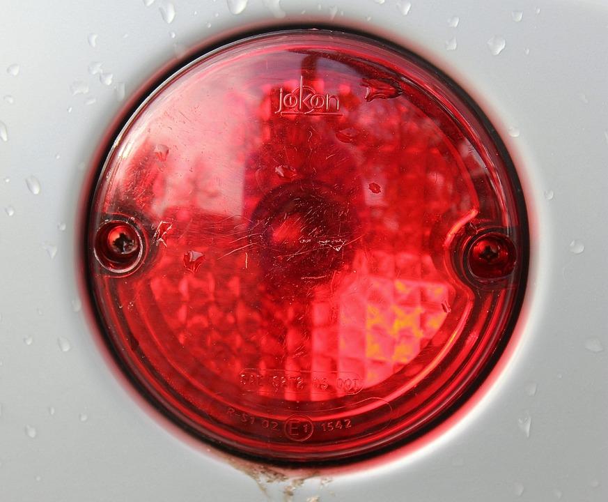 Brake Light, Red, Light, Lamp, Back Light, Stop Lamp