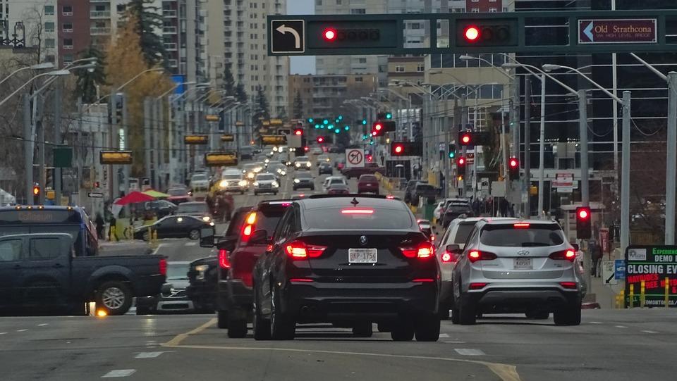 Traffic, Lights, City, Rush, Urban, Street, Stop
