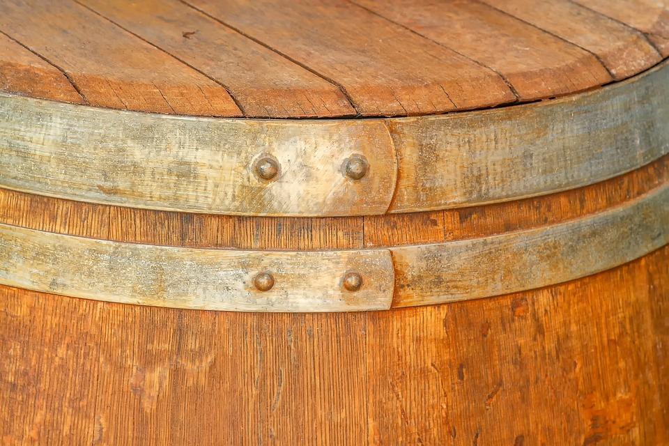 Wooden Barrels, Wine Barrel, Barrel, Storage, Wood