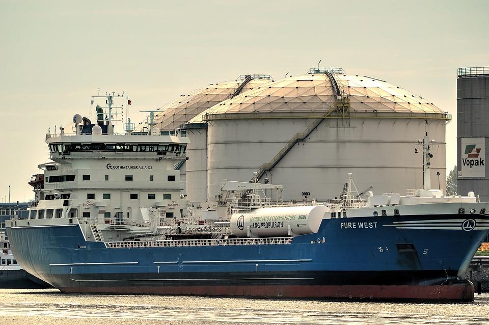 Tanker, Ship, Oil Tanker, Storage Tank, Gastanker