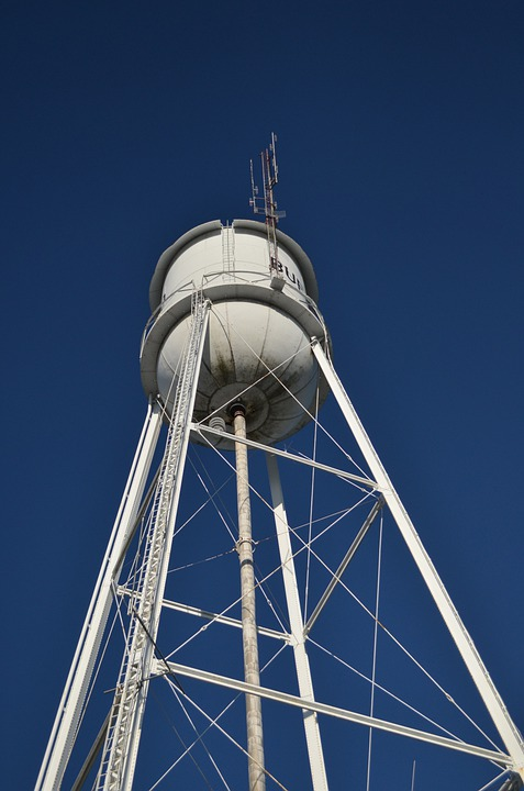 Water Tower, Tower, Architecture, Storage, Water Supply