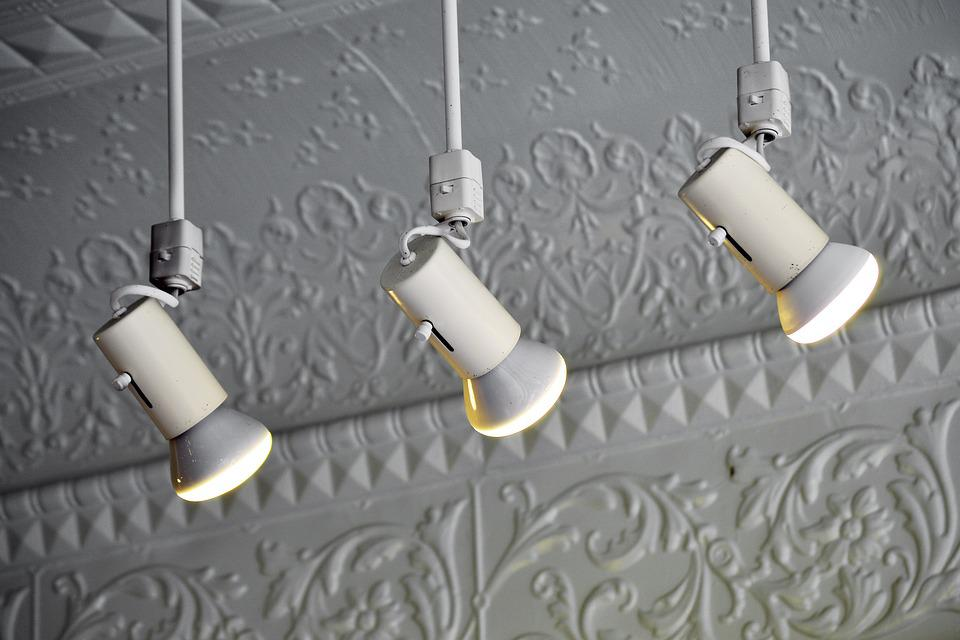 Lights, Lamps, Store, Shop, Shoppe, White, Ceiling