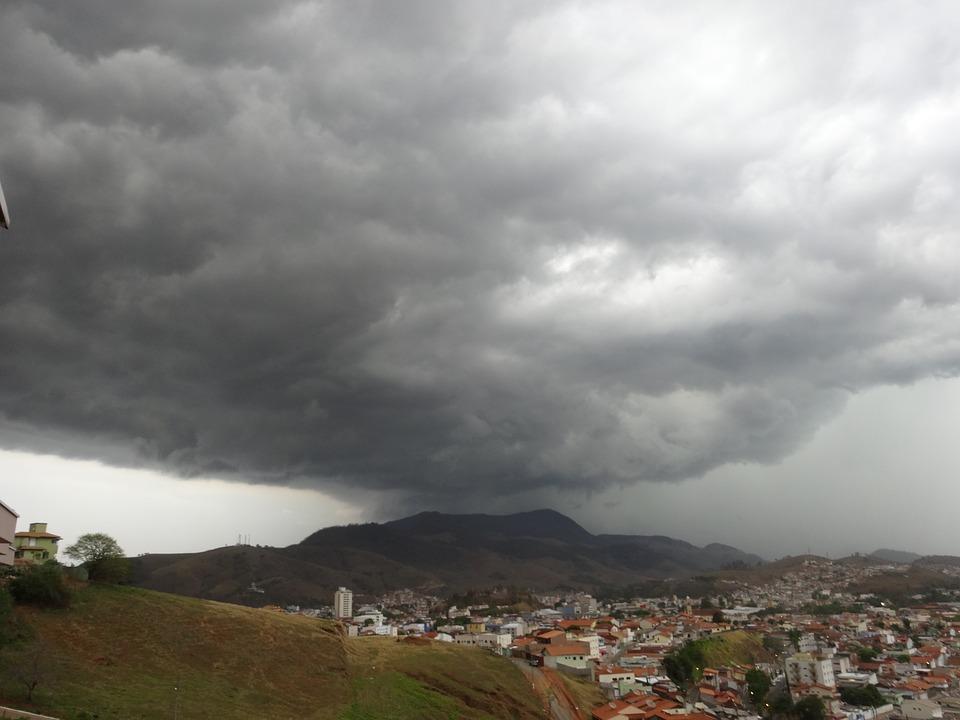 Storm, Mountain, Rain, Itajubá, Minas, Brazil, Cloud