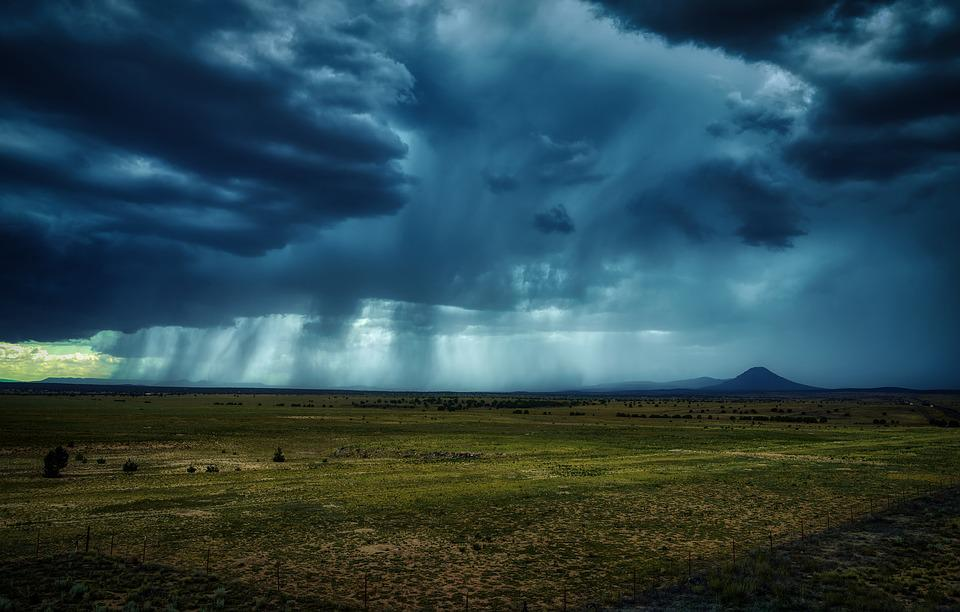 Arizona, America, Thunderstorm, Storm Clouds, Weather