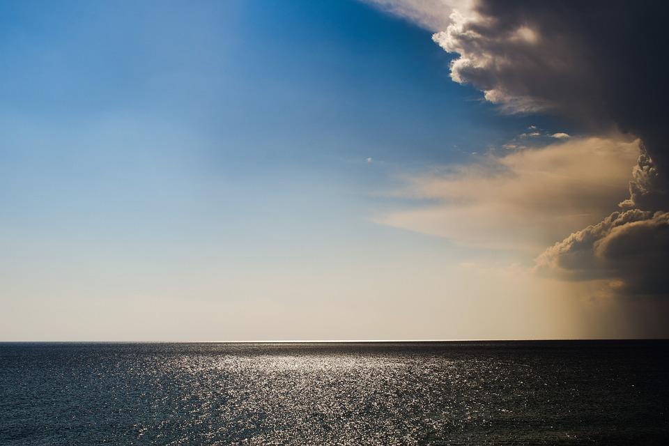 Sea, Clouds, Nature, Sky, Storm, Light, Cloudscape
