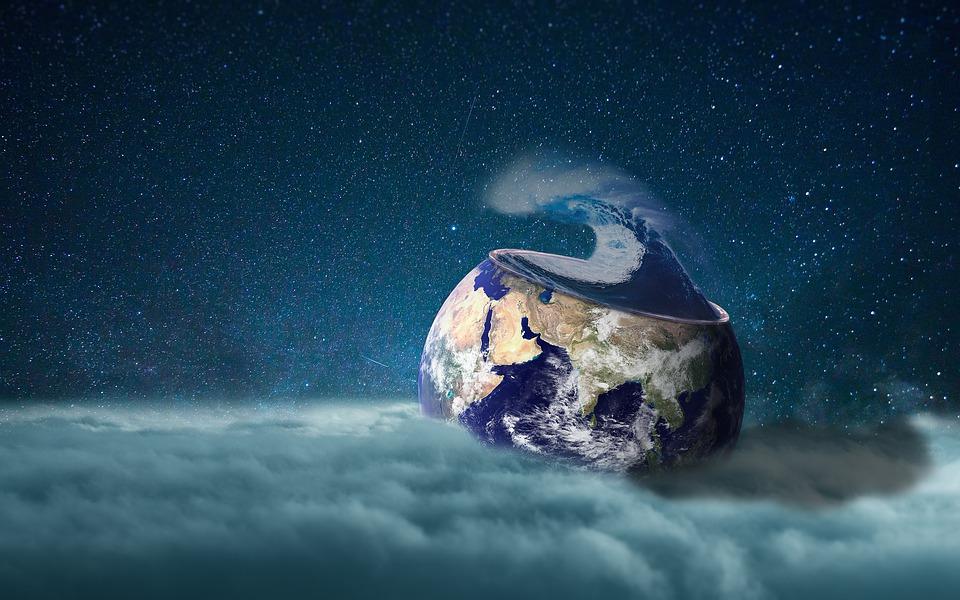 Earth, Storm, Stars, Planet