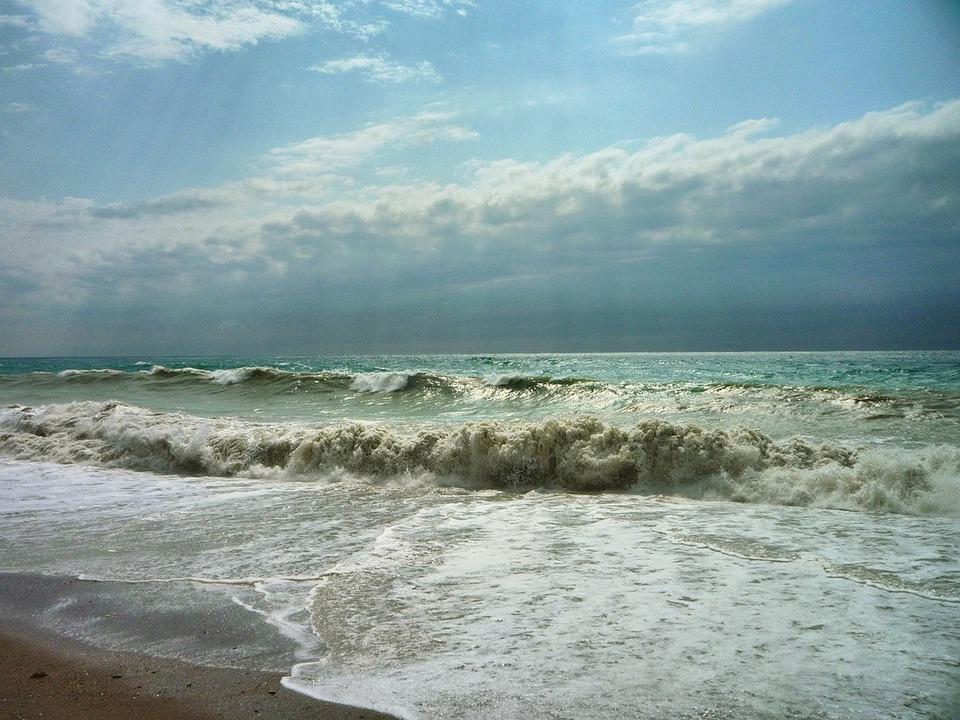 Sea, Storm, Gagra