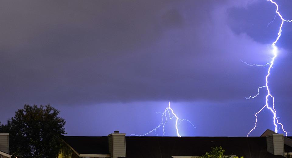 Lightning, Kentucky, Weather, Lexington, Clouds, Storm