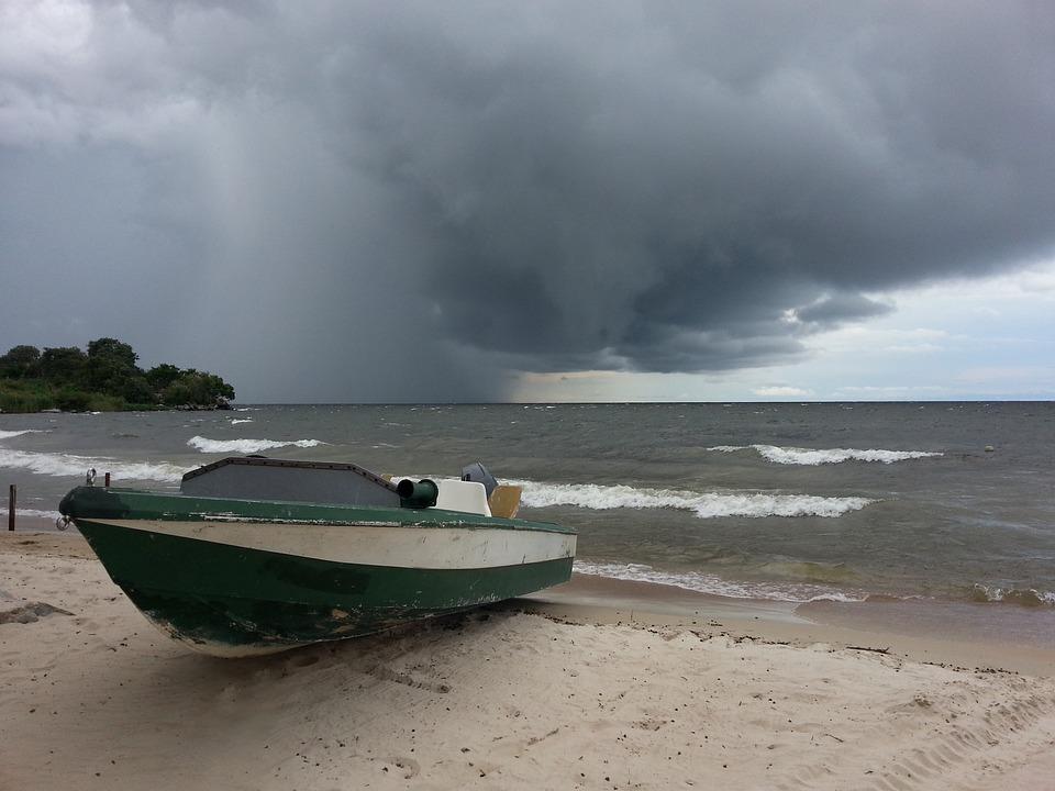 Lake Victoria, Mwanza, Tanzania, Storm, Clouds, Scenic