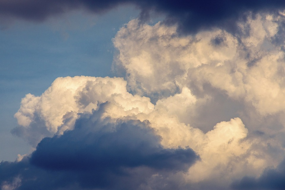 Clouds, Cloud Cover, The Sky, Storm, Dark Blue, Weather