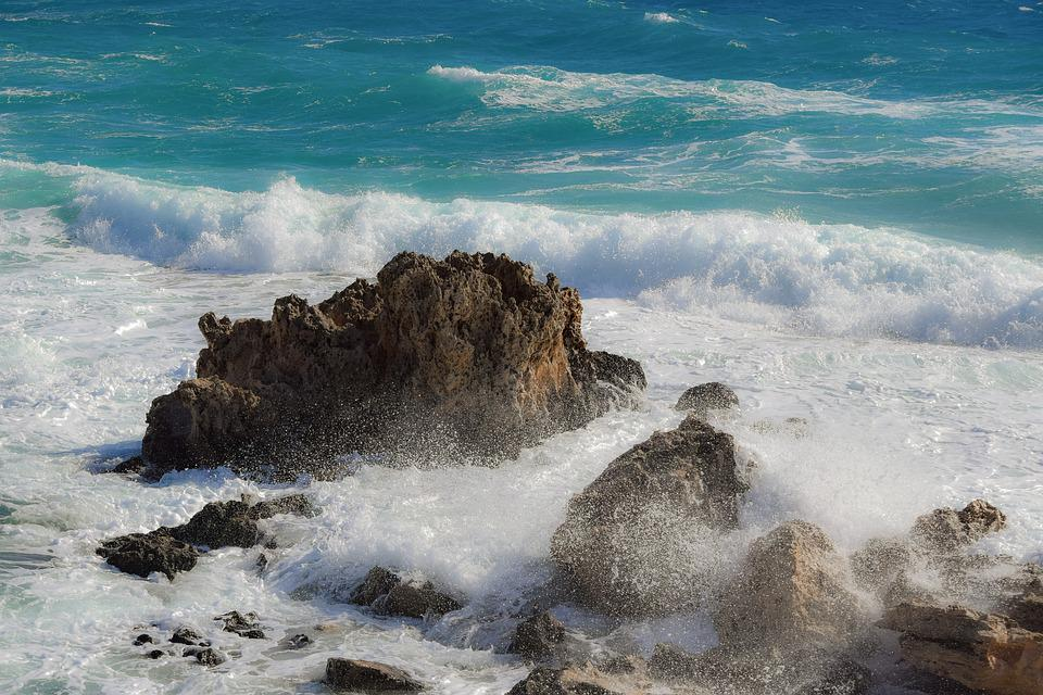 Rocky Coast, Rock, Sea, Landscape, Waves, Wind, Storm