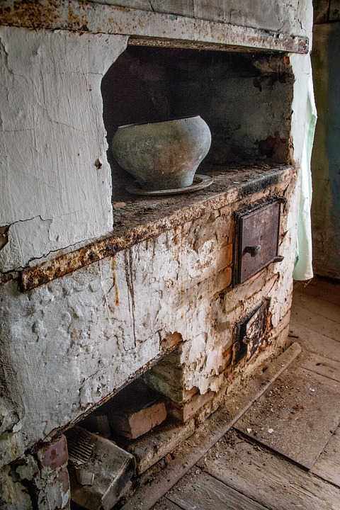 Stove, Old House, Antiquity