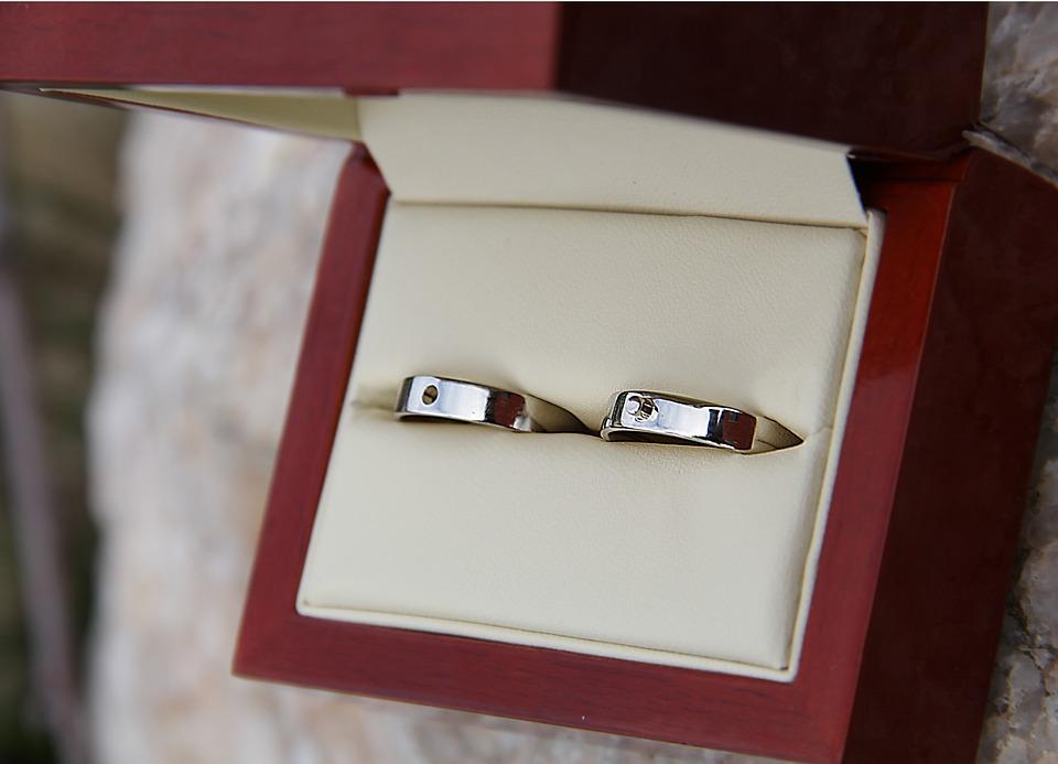 Bridal, Prstnýnky, Stoves, Box, Silk