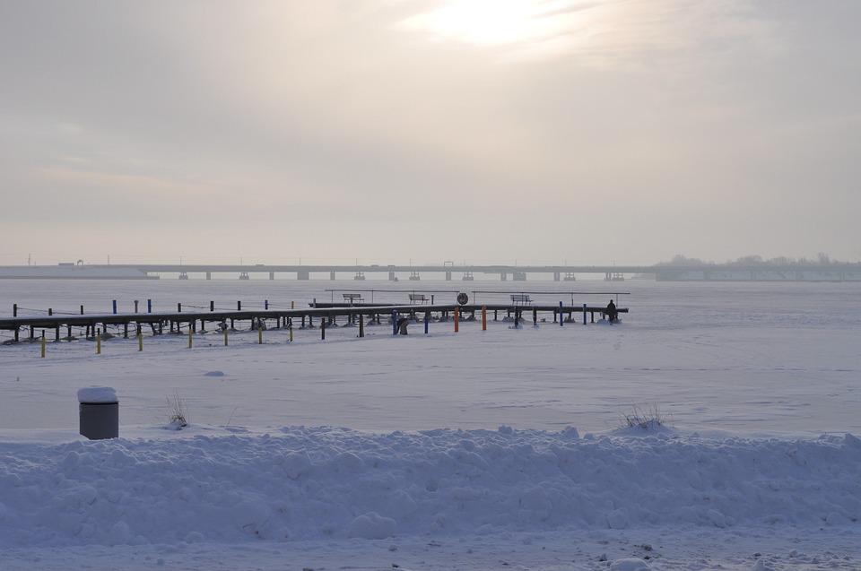 Bridge, Stralsund, Bodden