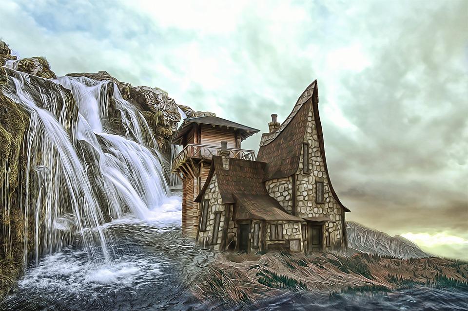 House, Strange House, Unusual, Abandoned, Outdoors