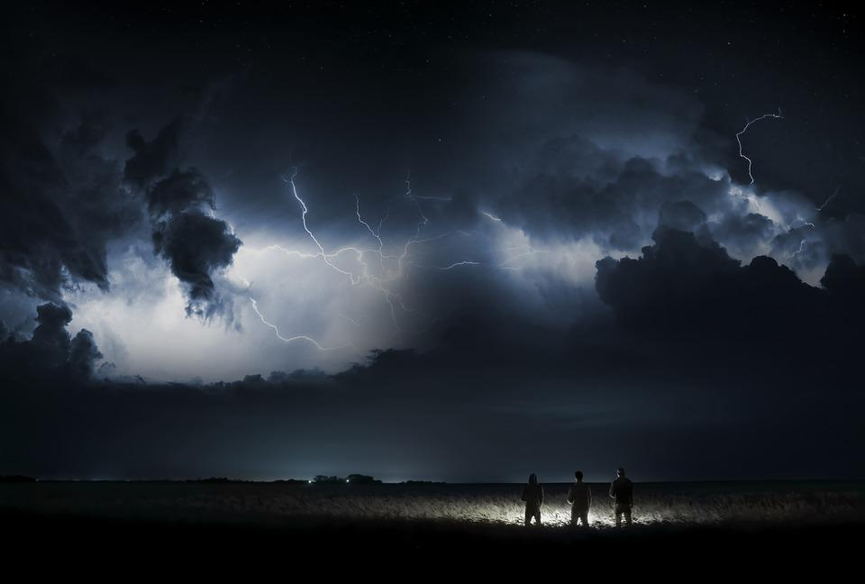 Stranger Things, Sky, Nature, Forward, Weather