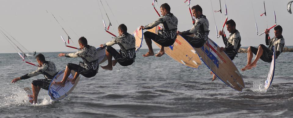 Kiteboarding, Straplees, Sport