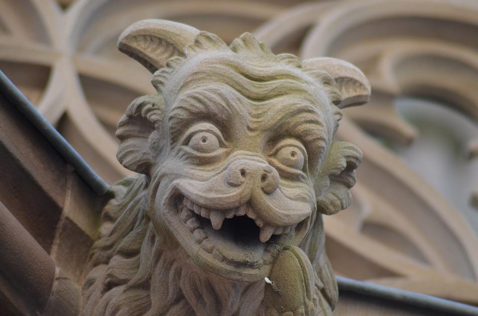 Gargoyle, Cathedral, Strasbourg, Religious Monuments