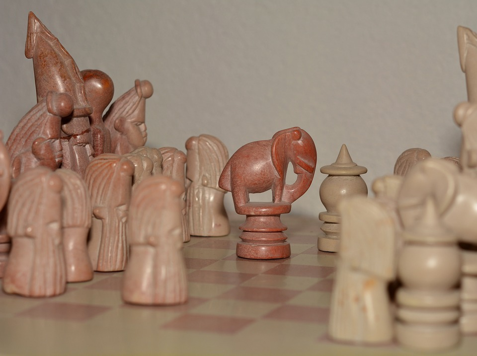 Chess, Chess Game, Chess Pieces, Stone, Strategy