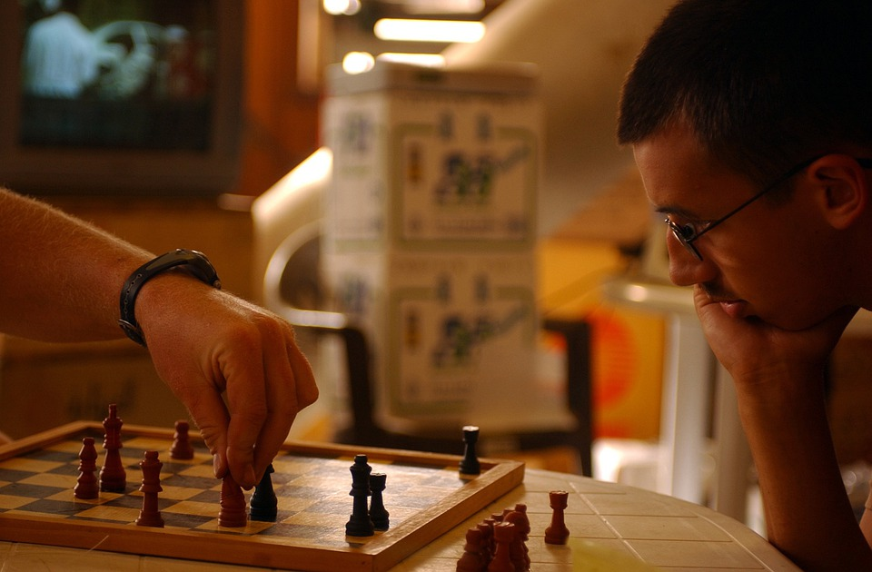 Chess, Board, Pieces, Macro, Close-up, Men, Strategy