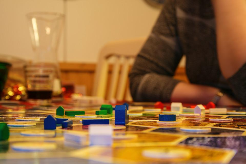 Board Game, Playing, Pieces, Strategy, Consideration